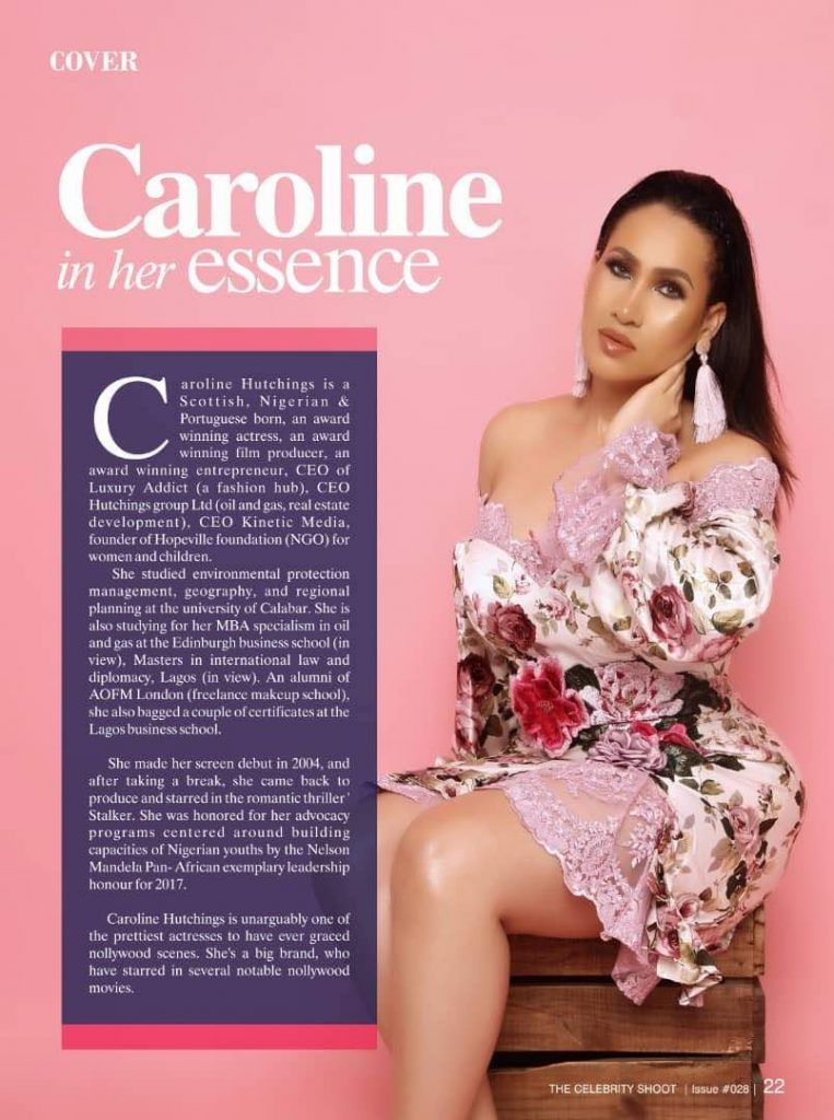 Caroline Danjuma is the Cover Star for latest issue of The
